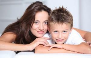 Мама и сын-11