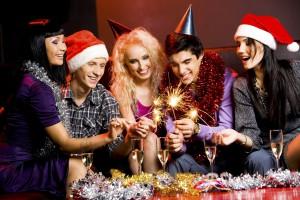 Новый год и подростки