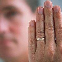 Он был женат